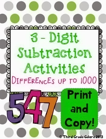 http://www.teacherspayteachers.com/Product/Triple-Digit-Subtraction-Within-1000-1044140