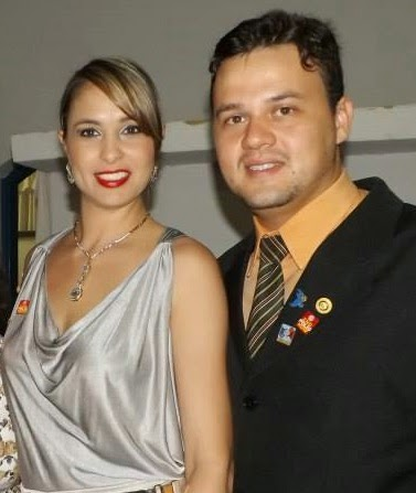 Casal Presidente do Rotary Club de Morrinhos
