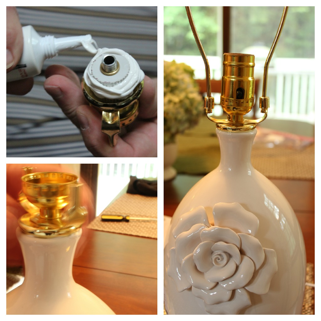 Turning a Vase into a Lamp