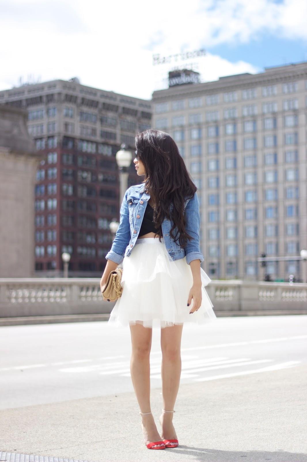 Tulle skirts, tutu skirts, fashion blogger, melba nguyen, tulle skirt pairing, fendi purse , styling tulle skirts