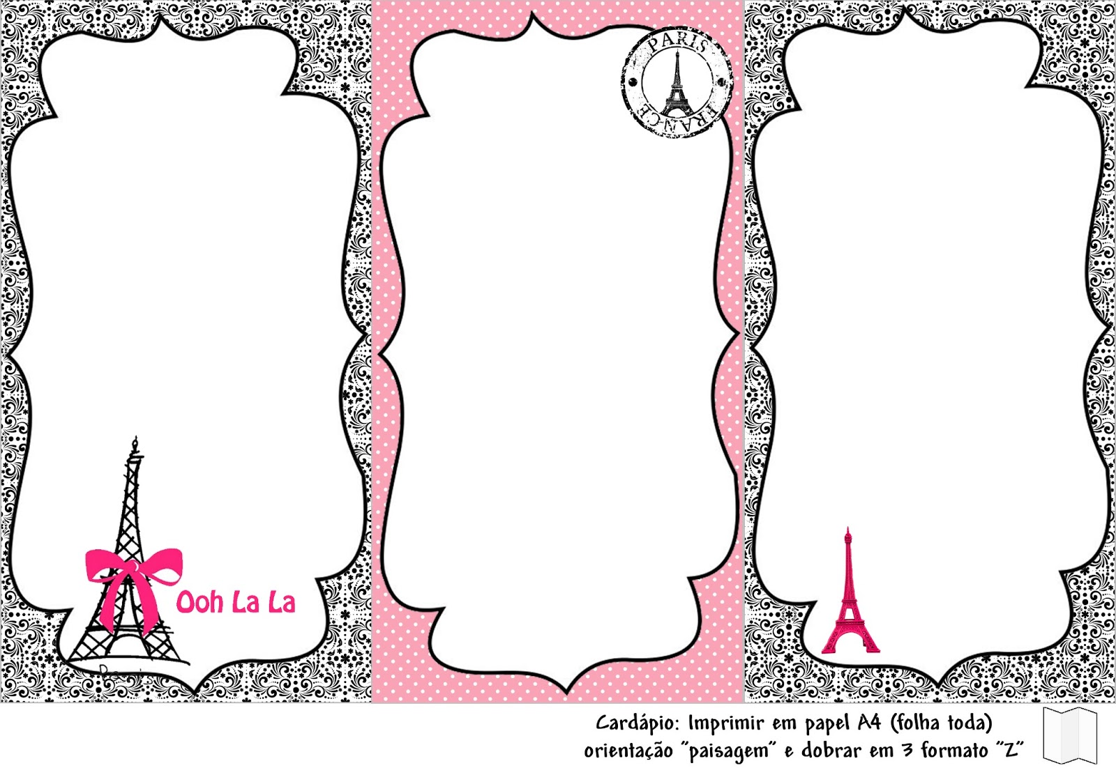 Princesas De Branco Kit Festa 15 Anos Ou Casamento Tema Paris Para