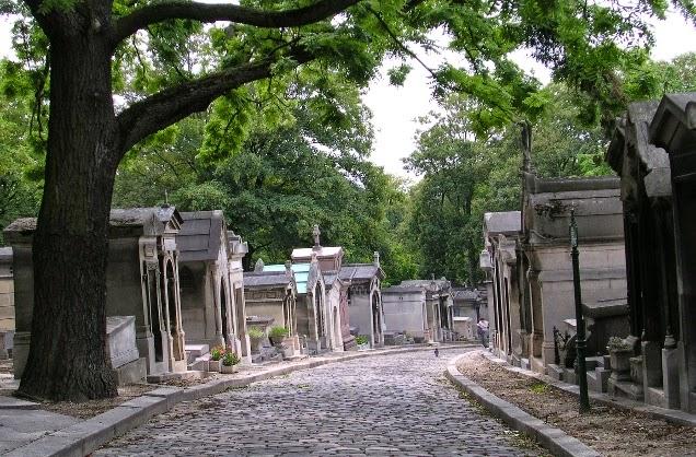 Paris Père Lachaise Mezarlığı