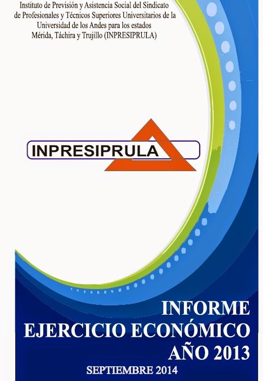 Informe INPRESIPRULA