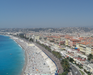 French Riviera - Nice Beach, Baie Des Anges