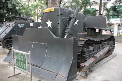 Topadora Americana Bulldozer de guerra