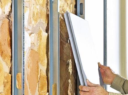 Como aislar la casa del frio y del calor aprender hacer - Aislantes termicos para paredes interiores ...