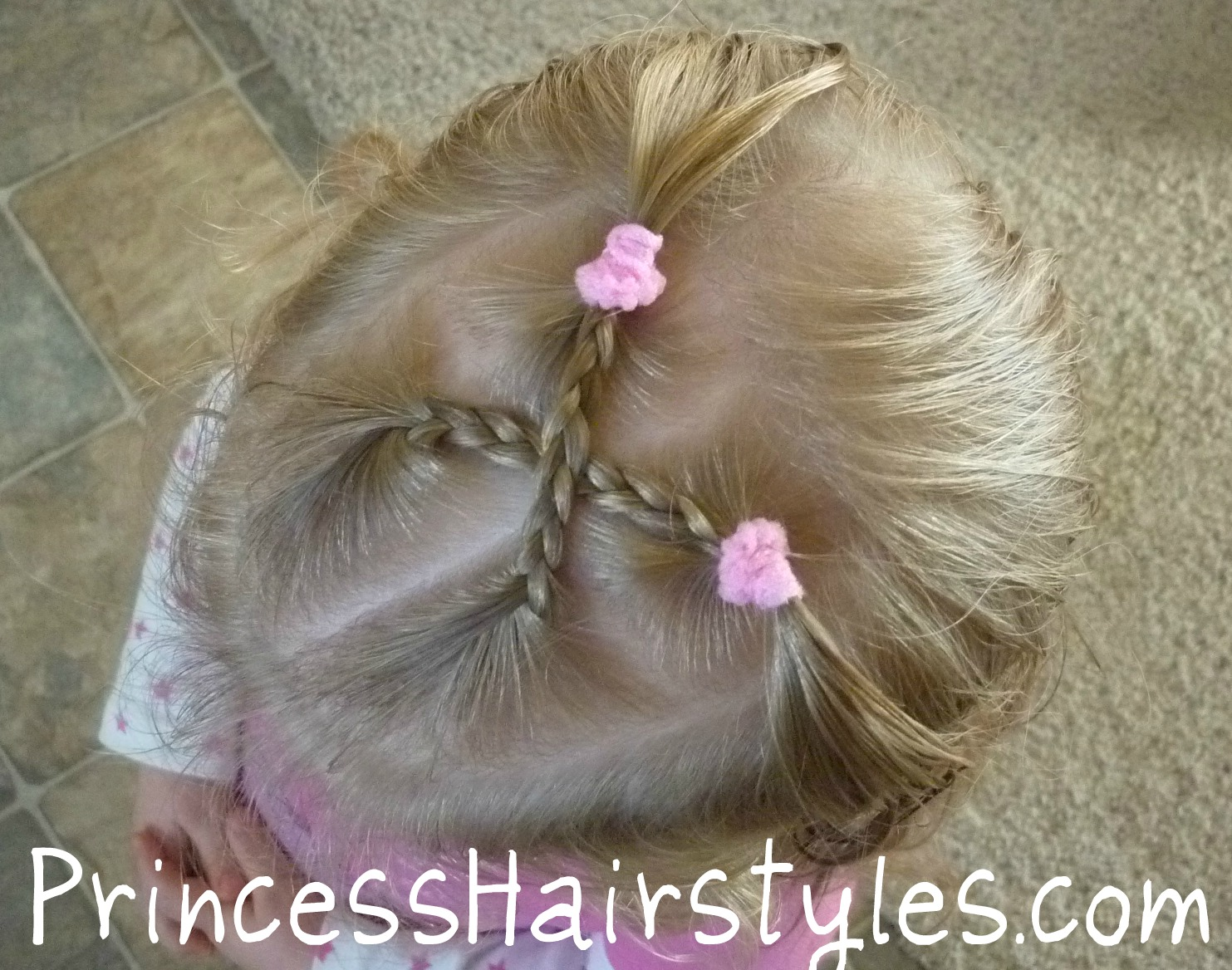 Criss Cross Braids Toddler Hairstyles