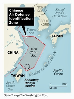 US closing in on China's coastline