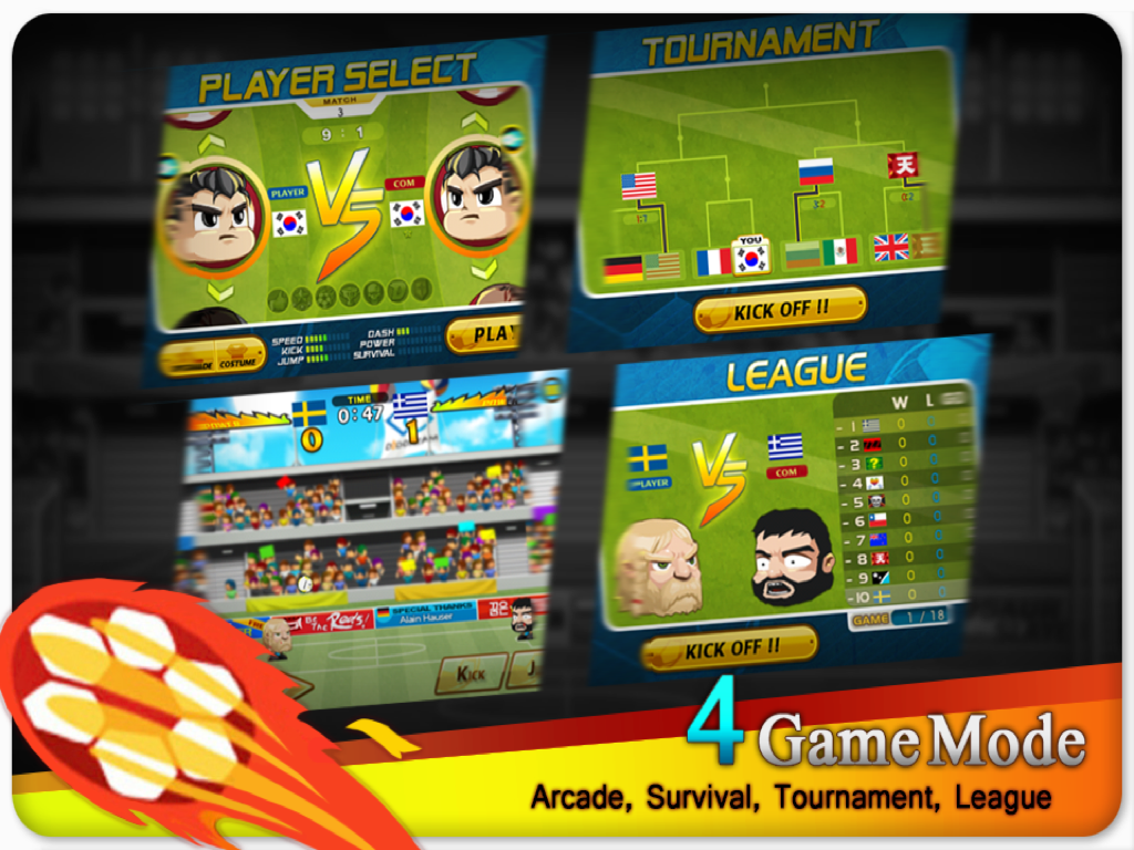 Head Soccer 2.3.1 apk download