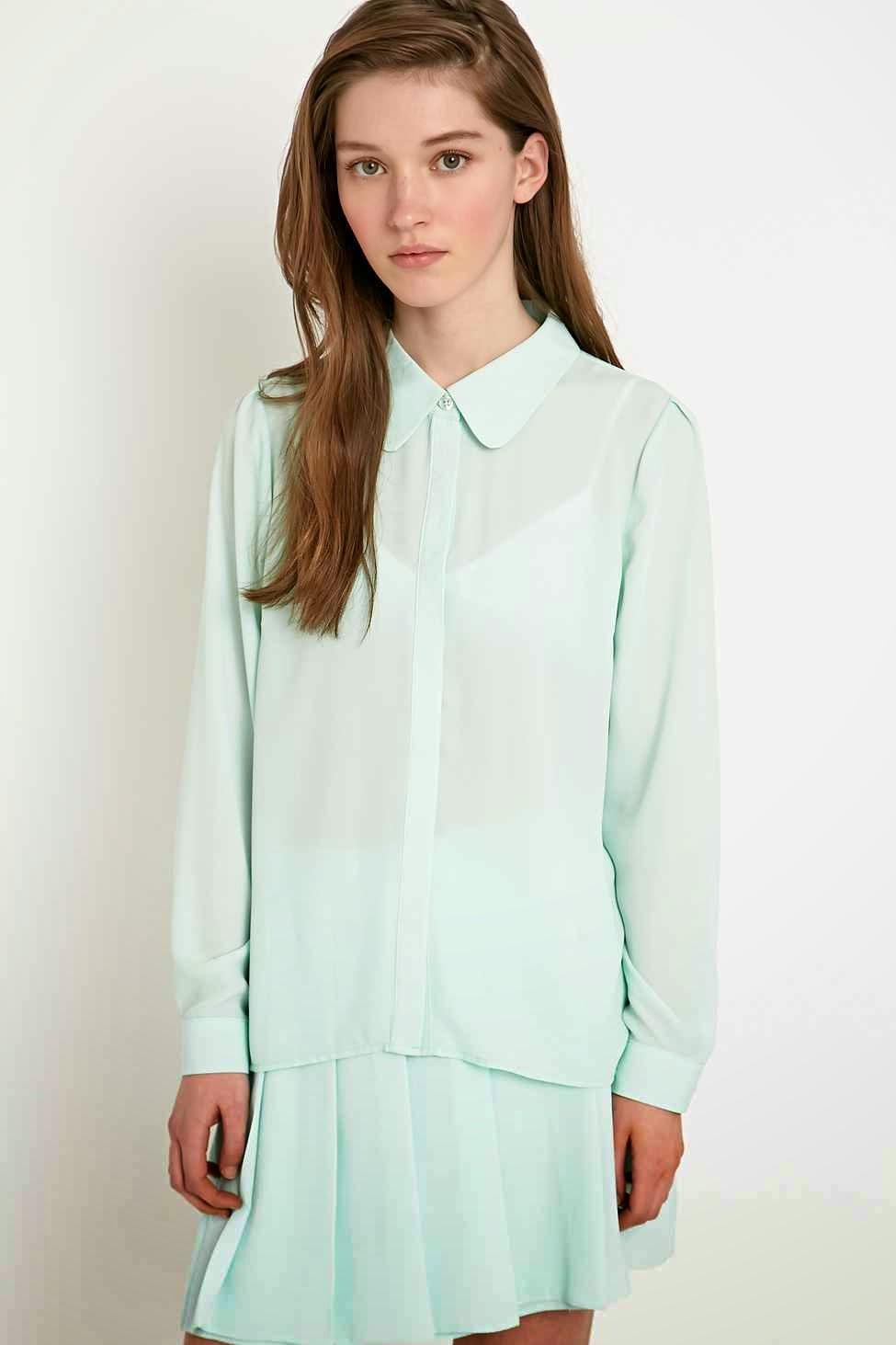 mint ladies shirt, mint ladies blouse, cooperative mint shirt,