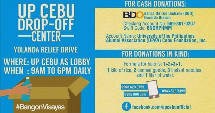 CebuOnlineTV-Yolanda-Donations-UP-Cebu