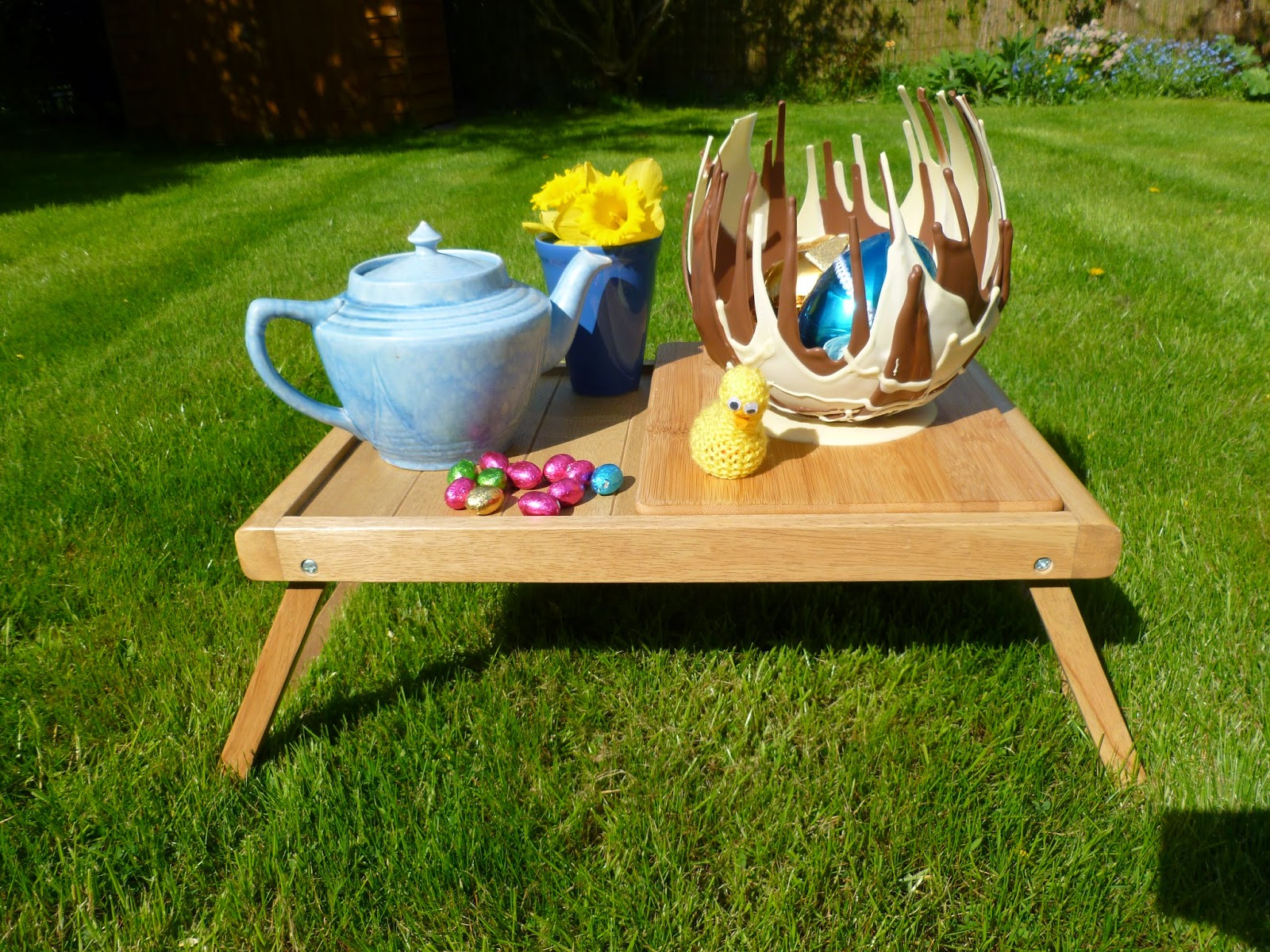 Easter Chocolate Basket & Picnic