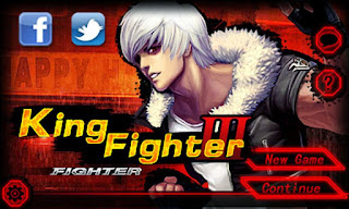 Screenshots of the King Fighter 3 for Android tablet, phone.