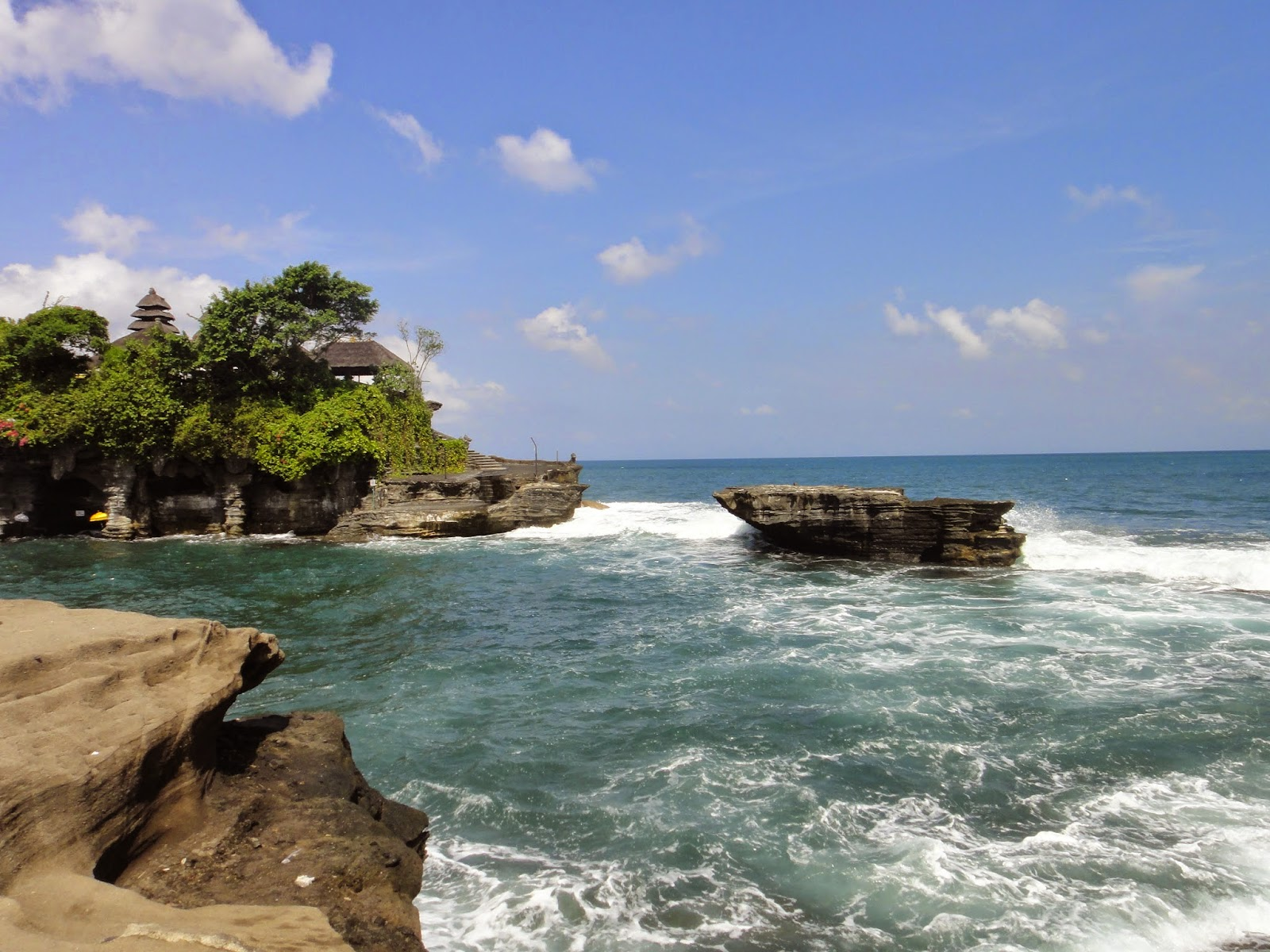 Pura Tanah Lot Bali Island Indonesia