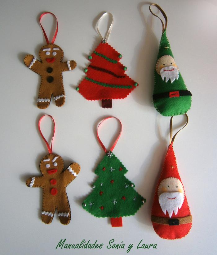 Taller de manualidades de sonia y laura comenzamos con - Los adornos navidenos ...