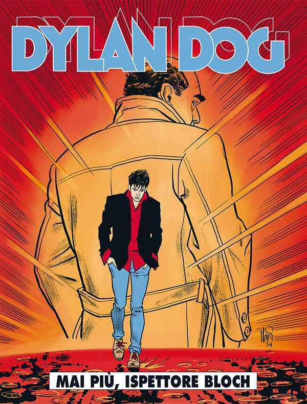 Dylan Dog 338 Bloch in pensione