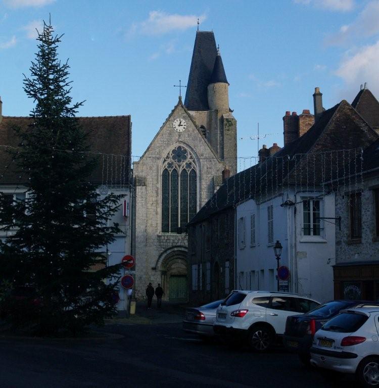 Nos randonnees visite guid e de l 39 glise de saint for Yvelines visite