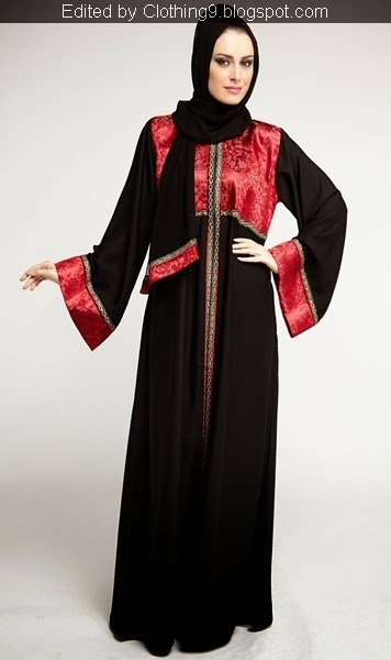 Abaya collection latest designs 2015 16 dubai gulf middle east