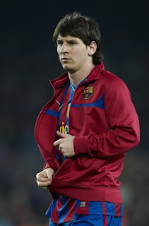 Lionel Messi looking smart