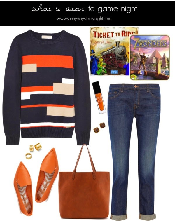 what to wear hosting a game night