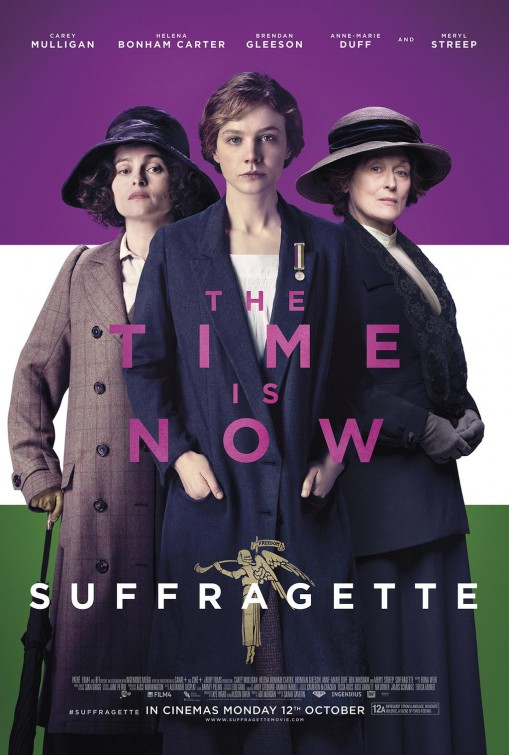 Suffragette movie poster