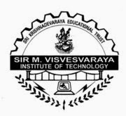Sir M Visvesvaraya Institute of Technology, Bangalore