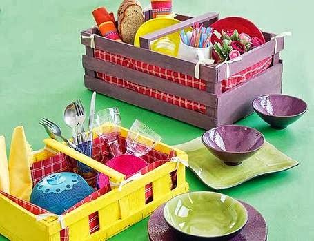 Поделки из пластиковых ящиков для фруктов