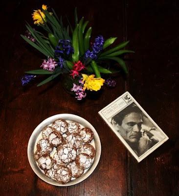 chocolate crinkle cookies e associazione progetto endometriosi