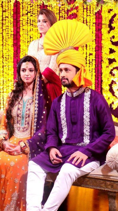 Singer Atif Aslam Girlfriend Sara Bharwana Wedding Pics