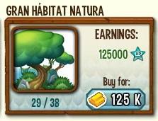 habitat mejorado de natura