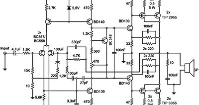 subwoofer amplifier schematic with 300w Subwoofer  Lifier Circuit Diagram on lificador De 120 Watts Rms   Transistores  plementares furthermore I Have Four 4 Ohm Speakers Connected In Parallel To My Connect   6618765 together with 300w Subwoofer  lifier Circuit Diagram also Car audio capacitor installation as well Mixer2.