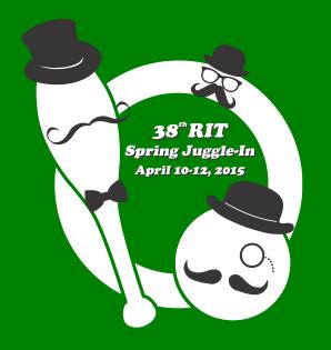 RIT Spring Juggle In Logo