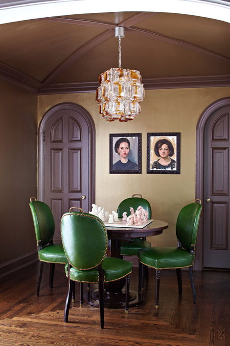 Milo co the art of displaying - Green dining room furniture ideas ...