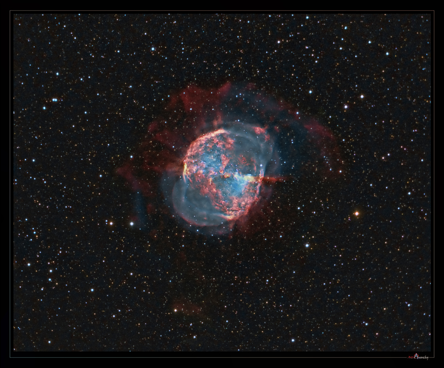 dumbbell nebula colors - photo #1