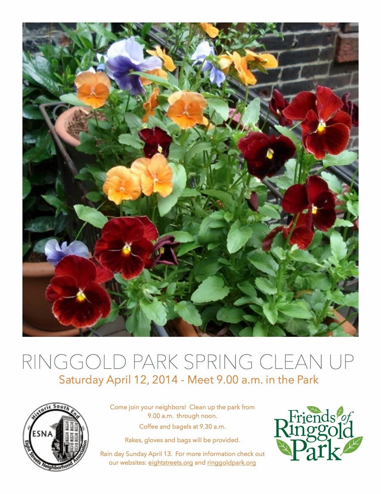 Ringgold Cleanup Flier
