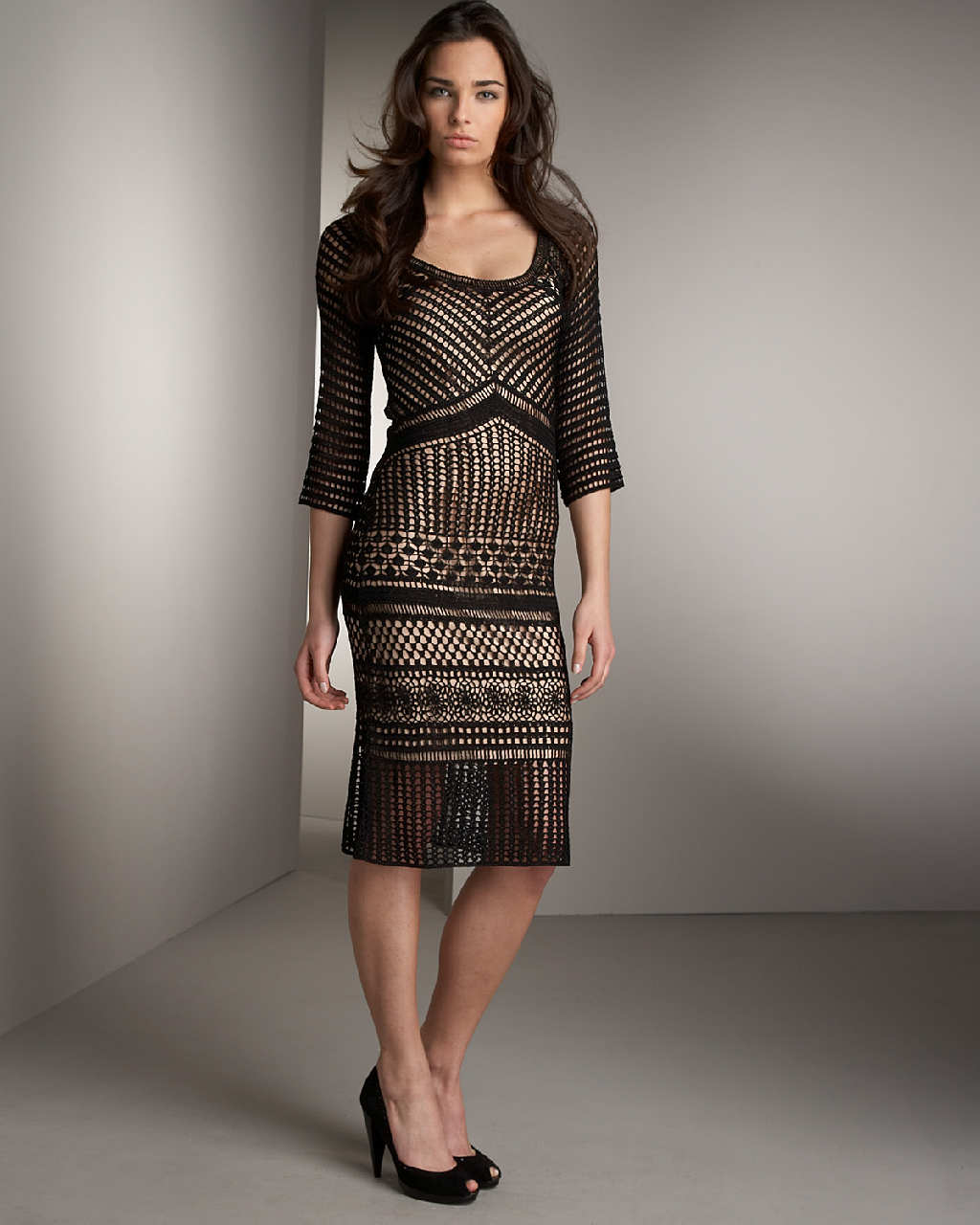 Neiman marcus black dress