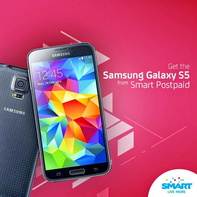 Get the Samsung galaxy S5 now! by just cliking the photo!