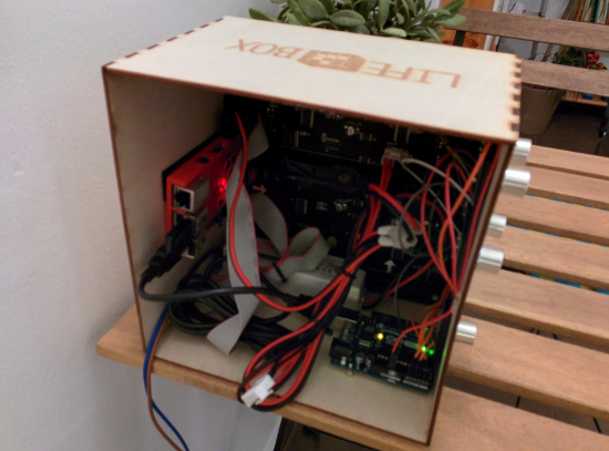 raspberry pi lifebox