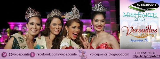 Miss Earth 2013 Official Results