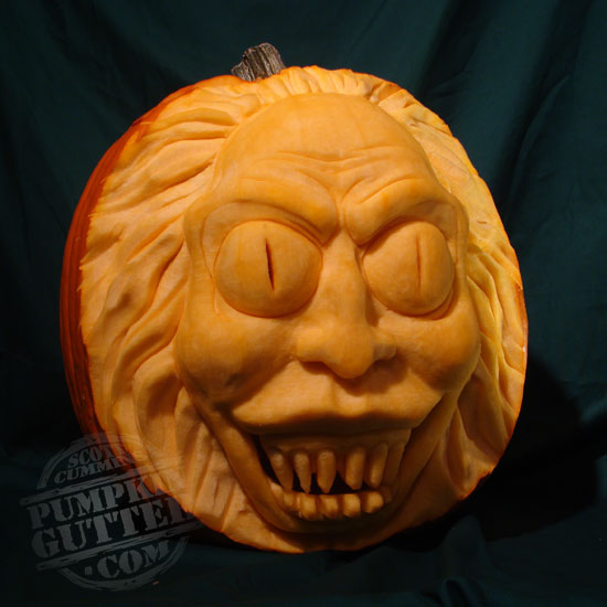 Most Expressive 3d Pumpkin Face Sculptures Ii Spyful