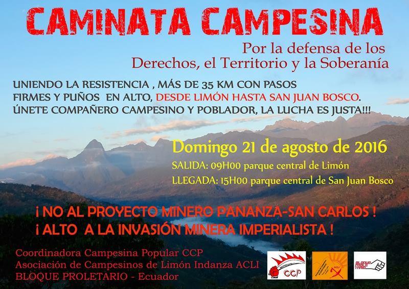 CAMINATA CAMPESINA