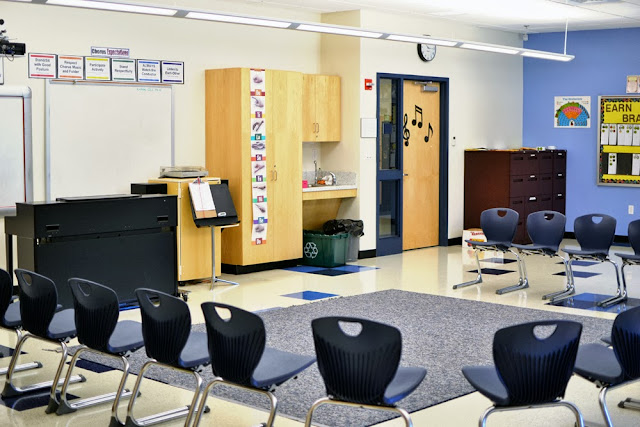 Memorial School Music Room