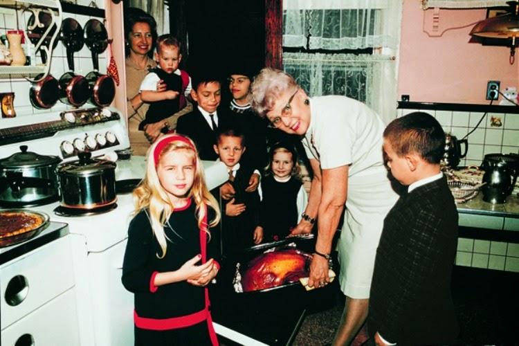 A Vintage Nerd, Vintage Thanksgiving, Vintage Blog, Vintage Holidays, Retro Holidays, Vintage Holiday Photos