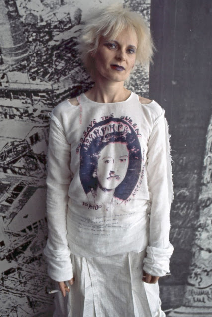 Vivienne Westward Queen of Punk