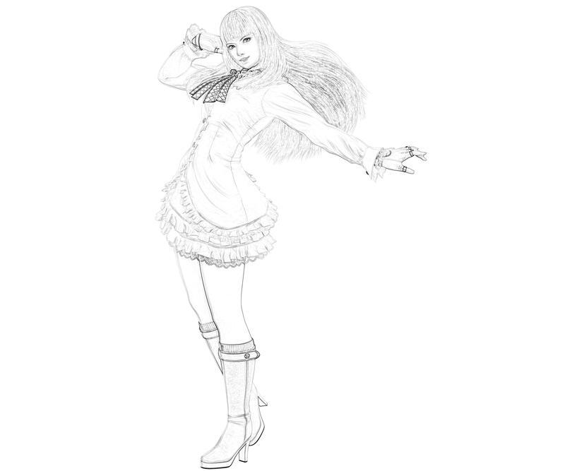 printable-tekken-emilie-de-rochefort-characters_coloring-pages