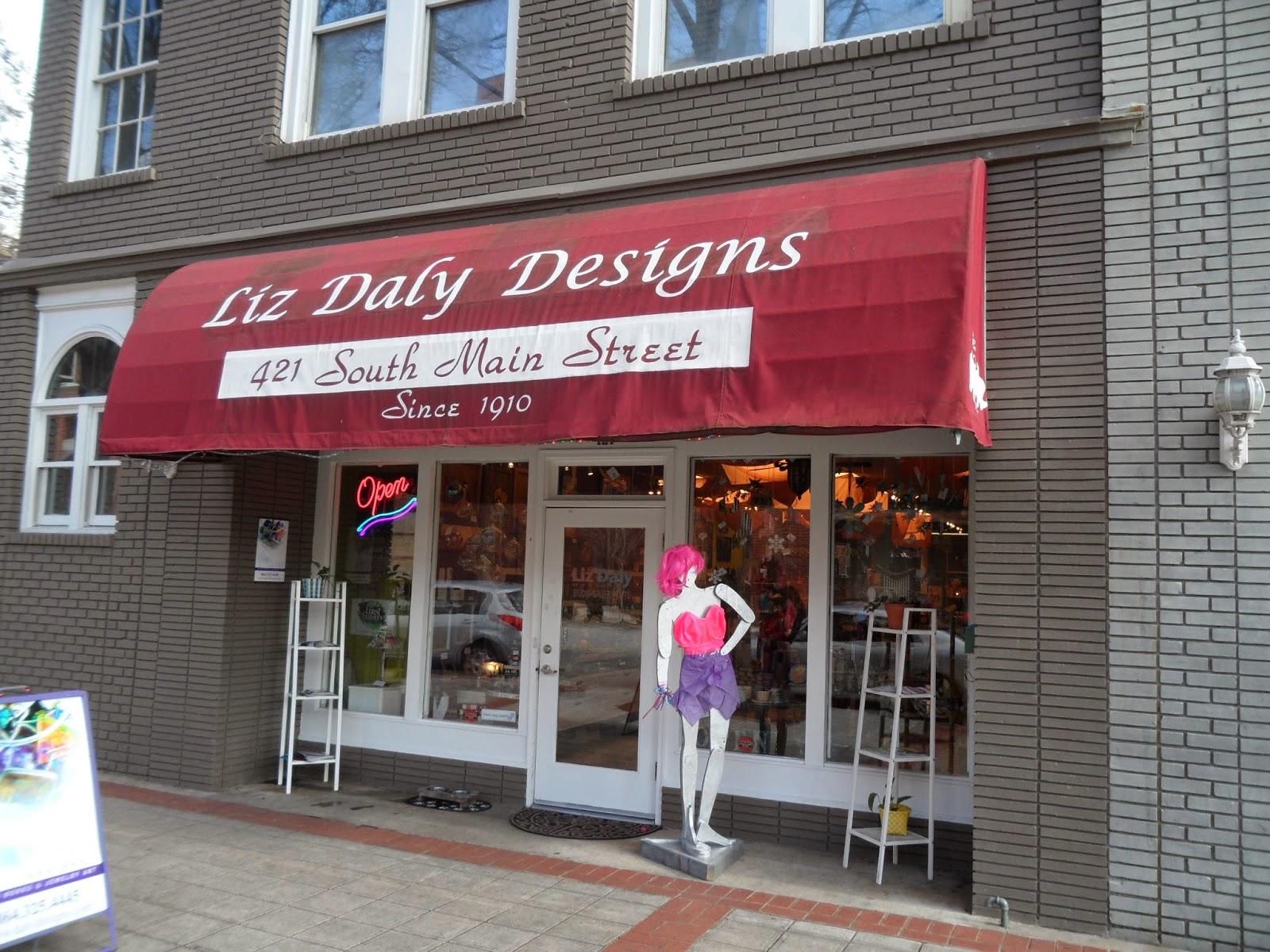liz daly designs downtown greenville sc
