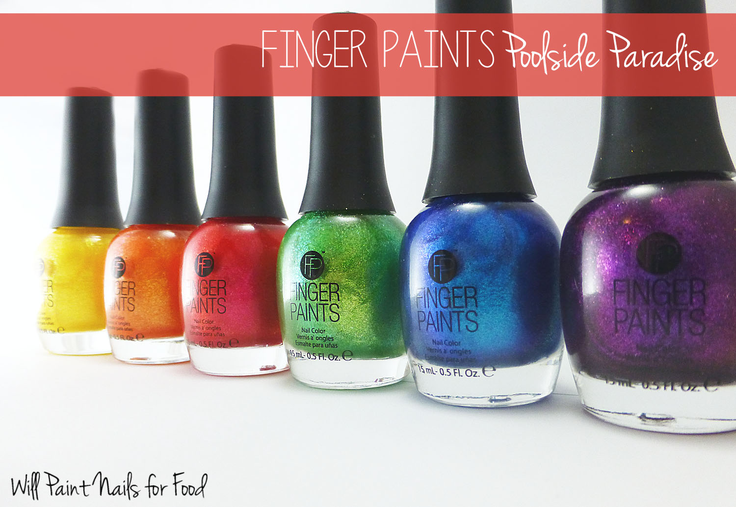 Finger Paints Poolside Paradise Collection