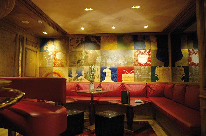 Fresque murale sur le thème Oberlin / Julien à Fouday