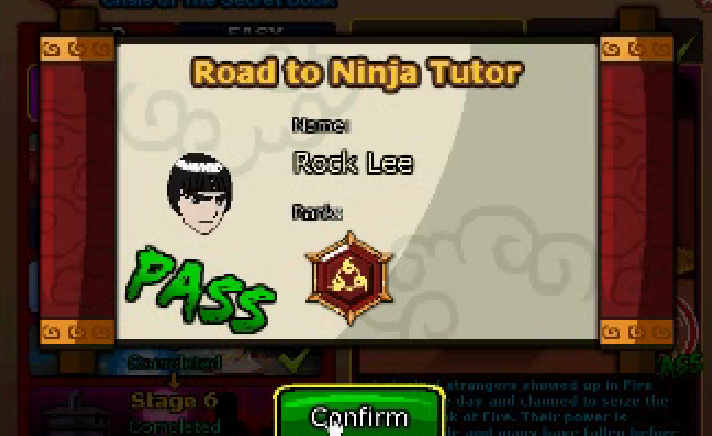 Trick Easy Road to Ninja Tutor Stage 6