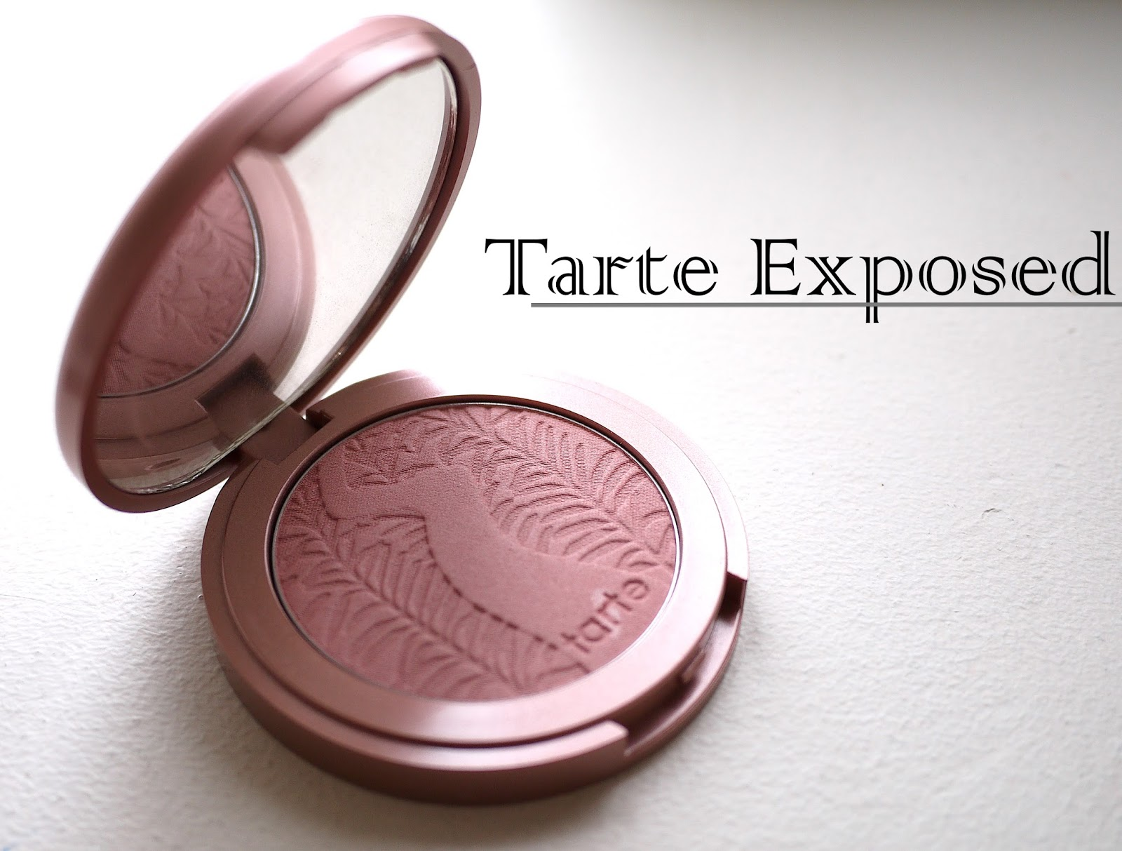 Tarte Exposed  blush review